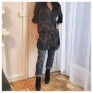 Dresses & Skirts - Chiffon shirt dress