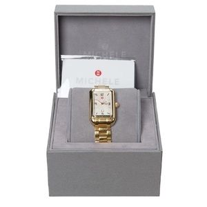 Michele Accessories - MICHELE Milou Park Watch.  Timeless! New Condition