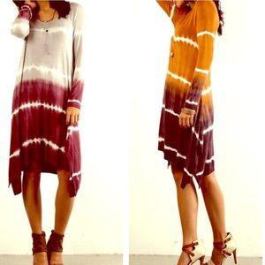 FashionBohoLoco Sweaters - Oversized Ombré Tunic NWOT