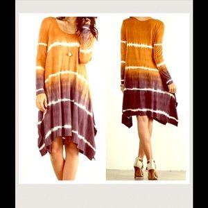 Boho Loco Fashion Boutique Dresses & Skirts - Ombré Tunic Dress NWOT