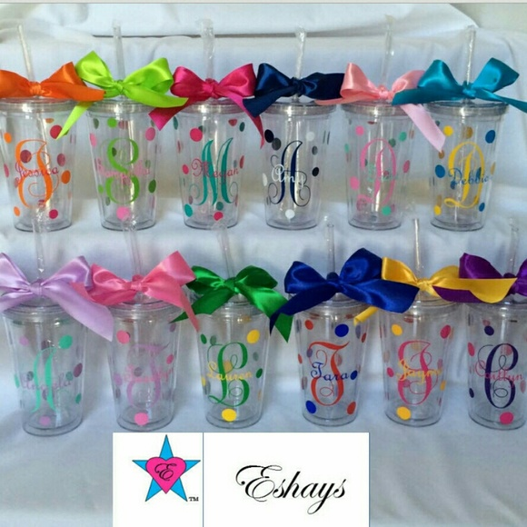 Cups Personalized Tumbler Cups With Straw And Ini