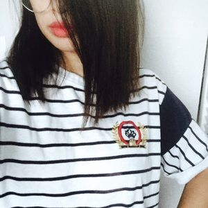 Nautical Vintage Striped Shirt