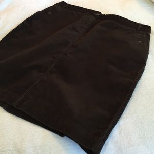 Final price!J. Crew corduroy pencil skirt