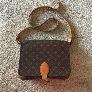 Louis Vuitton Authentic Cartouchiere GM Crossbody