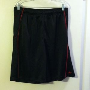 Athletech men's black shorts