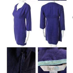 Boden Dresses - BODEN LINEN LONG SLEEVE KNEE LENGTH TUNIC DRESS