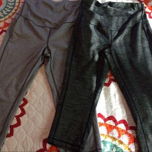 Old Navy Maternity cropped workout pants.