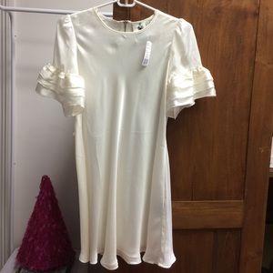 NWT Twelve by Twelve silk look dress