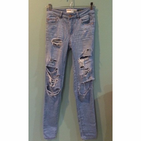 Diy Distressed Denim Boyfriend Jeans