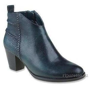 "Earth ""Cypress"" Black Bootie"