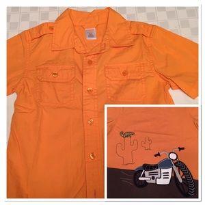 Gymboree Other - Button up camp shirt
