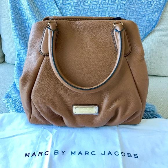 f4b305847bdb NWT Marc by Marc Jacobs New Q Fran Leather Satchel