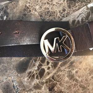 Leather Michael kors belt