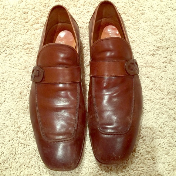 94% off Gucci Other - Gucci loafers size 10.5 us /9.5 european ...