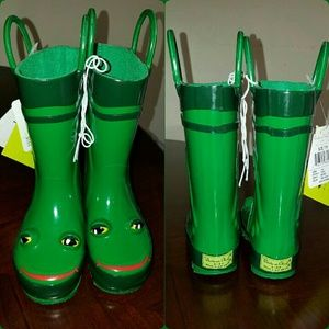 Western Chief Other - NWT Western Chief kids froggy rain boots