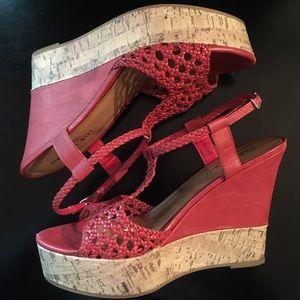 """Steve Madden Shoes - ❤️Steve Madden 5"""" Tangerine Platform Wedge"""