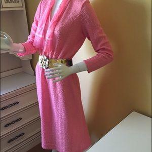Gorgeous vintage knit dress