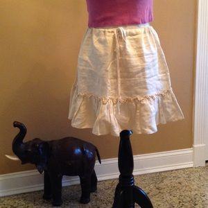 Acrobat Dresses & Skirts - Short linen  skirt