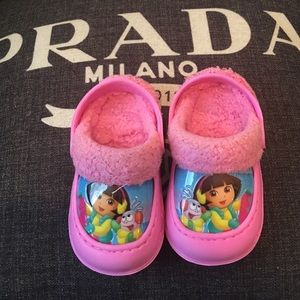 CROCS Other - Dora crocs like slippers