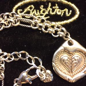 Jewelry - JUST REDUCED!!  BRIGHTON WINGS OF FAITH NECKLACE