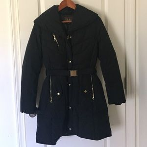Black Cole Hann Winter Coat