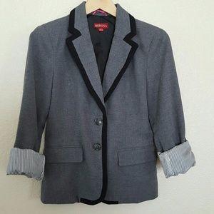 Super Cute Gray & Black Blazer