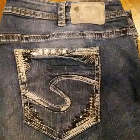 80% off Silver Jeans Denim - Silver brand (Western Glove Works ...