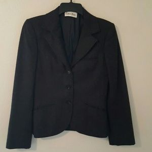 Calvin Klein  Jackets & Blazers - Last Call Donating  Calvin Klein Wool Jacket