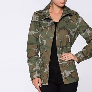 Jackets & Blazers - Military Utility Camo, Urban Chic Jacket