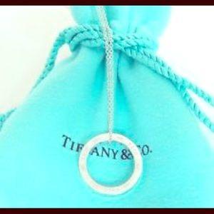 Tiffany & Co. Jewelry - Auth. Tiffany & Co. 1837 Circle Pendant Necklace