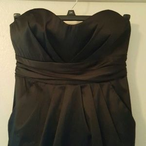 Alyn Paige  Dresses & Skirts - Last Call Donating Strapless Black Prom Dress