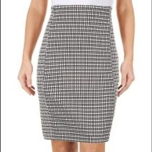 Attyre Dresses & Skirts - NWT!! Attyre Black And White Pencil Skirt, 6