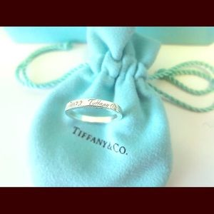 Tiffany & Co. Jewelry - Auth. Tiffany & Co. 727 Fifth Ave Silver Ring