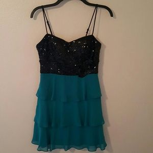 B Darlin Dresses & Skirts - Last Call Donating Sequined Prom Party Dress