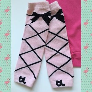 Baby Leg Other - Faux Ballet Baby Leggings 💕