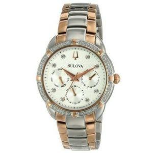 Bulova  Accessories - NWT Bulova $550 Diamond Chronograph watch
