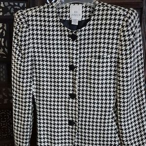Jackets & Blazers - Houndstooth jacket