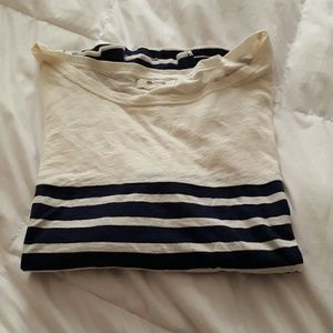 Madewell striped navy tee