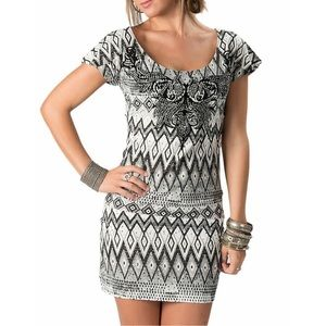 Rock & Roll Cowgirl Dresses & Skirts - Rock & Roll Cowgirl Sequin Aztec Dress