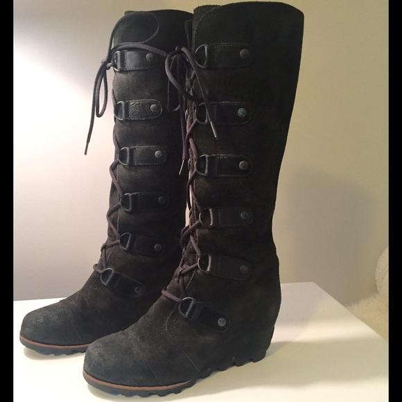 ec263fdc309 Sorel Joan of Arctic Tall Wedge Boots. M 581cfcf7d14d7b4767001323
