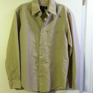 Marc Edwards men's pinstripe  shirt