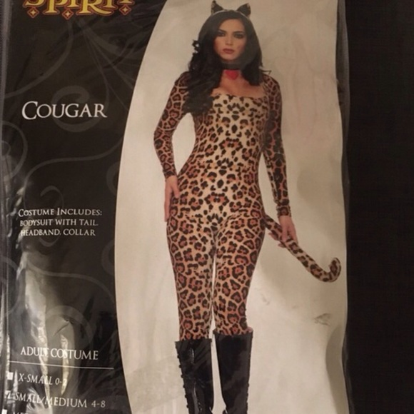 cat cougar leopard halloween costume