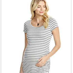 Jessica Simpson Back Interest Maternity T shirt