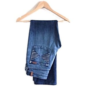 7 For All Mankind Denim - 7 For All Mankind blue jeans