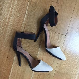 Jeffrey Campbell Shoes - Jeffrey Campbell two tone solitaire heels