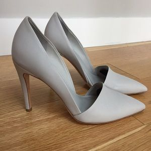 Vince Shoes - Vince dove grey d'orsay heels