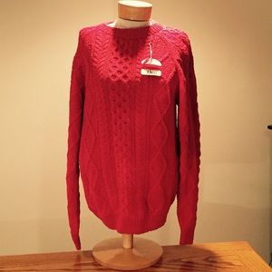 Orvis Sweaters - 🆕 Orvis Red Sweater. Size Large