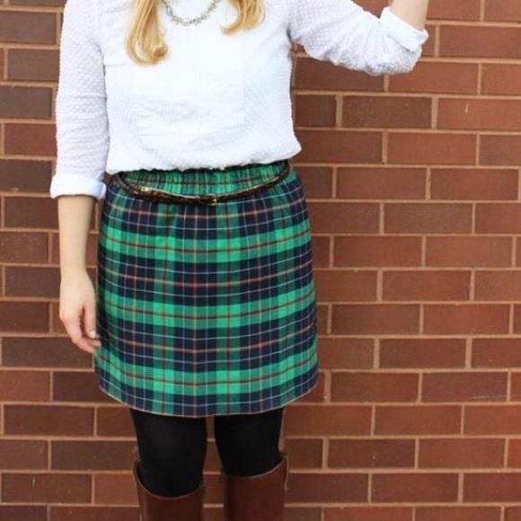 e7208a83e J. Crew Dresses & Skirts - J. Crew City Mini Skirt in Dublin Tartan