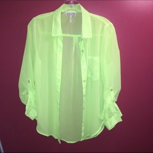 Neon shirt from PacSun