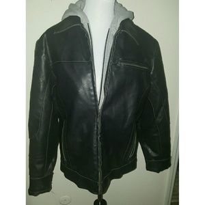 Kenneth Cole Reaction Other - Kenneth Cole Reaction Men's Faux Leather Jacket